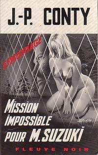 Couverture Mission impossible pour Mr Suzuki