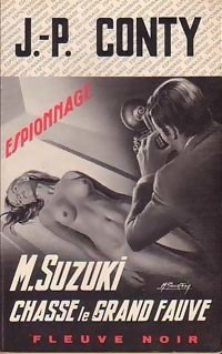 Couverture Mr Suzuki chasse le grand fauve