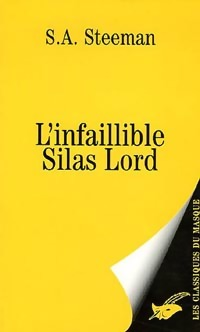 Couverture L'infaillible Silas Lord