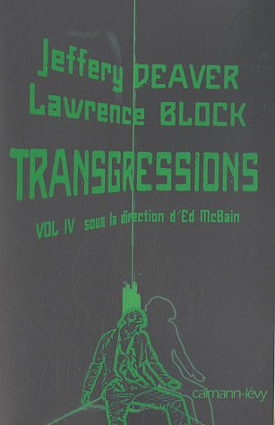 Couverture Transgressions : Tome 4