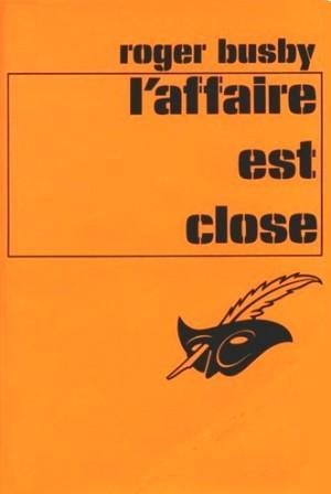 Couverture L'Affaire est close