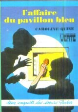 Couverture L'Affaire du pavillon bleu