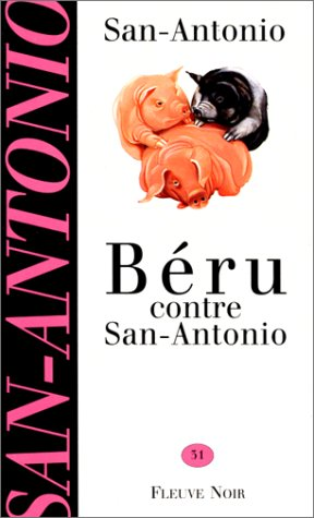 Couverture Béru contre San-Antonio