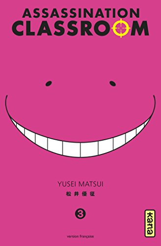 Couverture Assassination Classroom tome 3