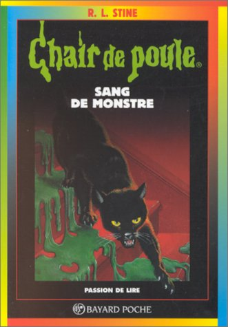 Couverture Sang de monstre