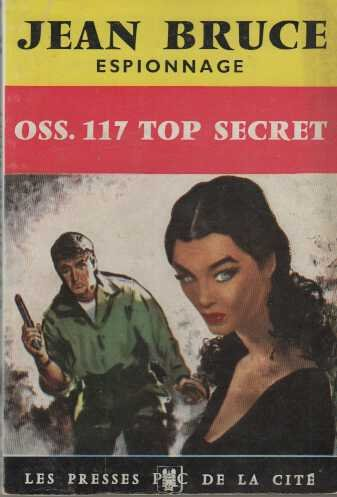 Couverture OSS 117 top secret