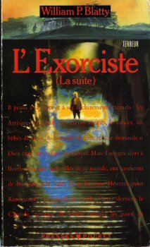 Couverture L'Exorciste (La suite)