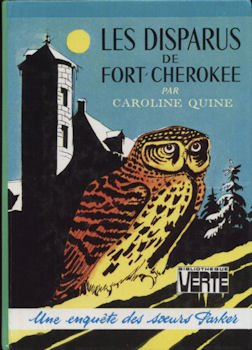 Couverture Les Disparus de Fort-Cherokee