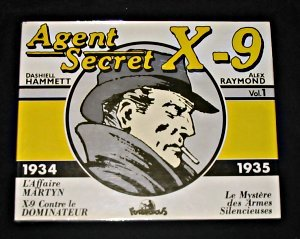 Couverture Agent secret X-9 volume 1