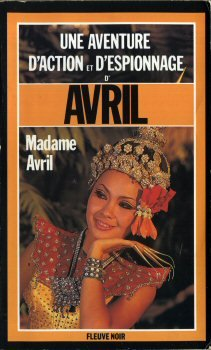 Couverture Madame Avril