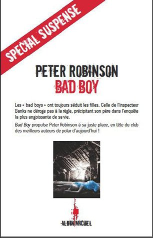 Couverture Bad boy