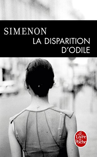 Couverture La Disparition d'Odile