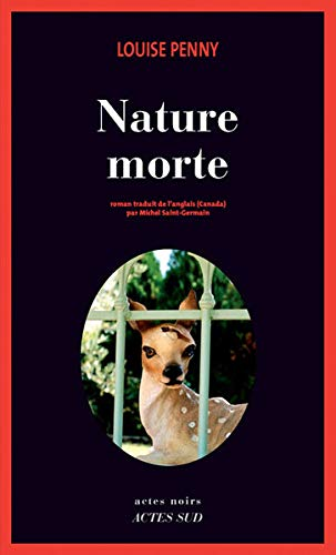 Couverture Nature morte Actes Sud