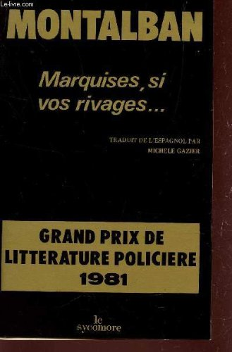 Couverture Marquise, si vos Rivages