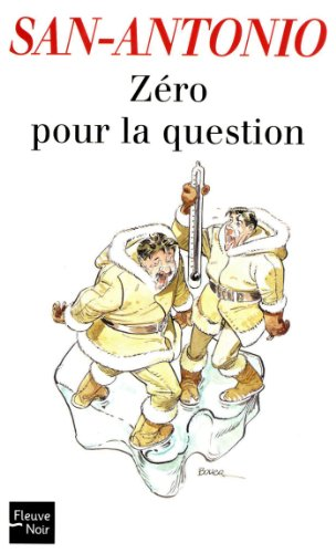 Couverture Zéro pour la question