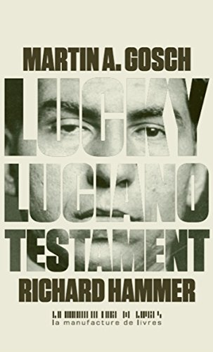 Couverture « Lucky Luciano - Testament »