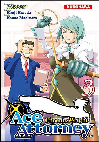 Couverture Ace Attorney - Phoenix Wright tome 3