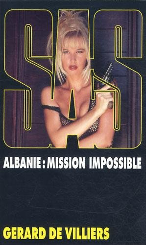 Couverture Albanie : mission impossible