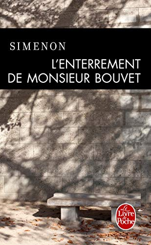 Couverture L'Enterrement de Monsieur Bouvet