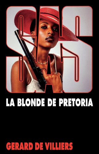 Couverture La Blonde de Pretoria