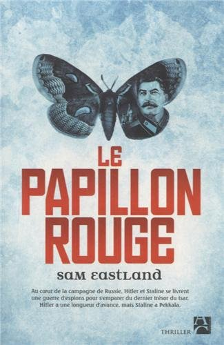 Couverture Le papillon rouge