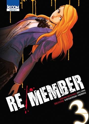 Couverture Re/Member tome 3