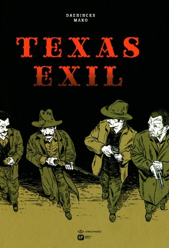 Couverture Texas exil