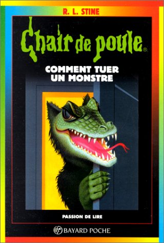 Couverture Comment tuer un monstre