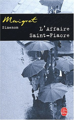 Couverture L'Affaire Saint-Fiacre