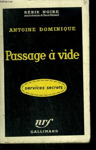 Couverture Passage à vide
