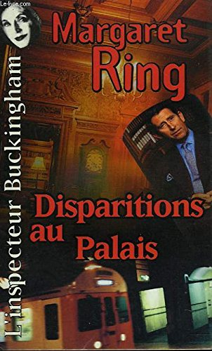 Couverture Disparitions au Palais