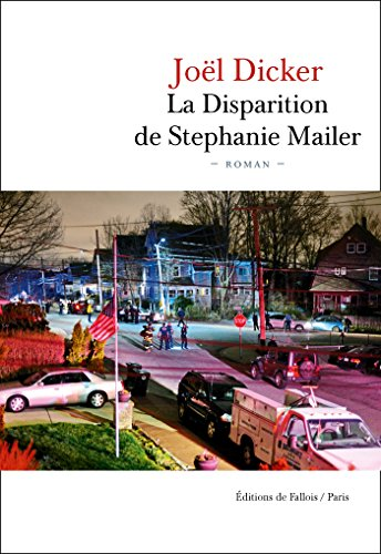 Couverture La Disparition de Stéphanie Mailer Editions de Fallois