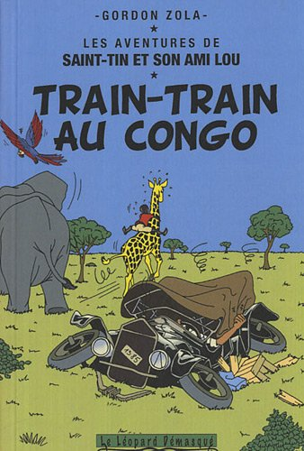 Couverture Train-train au Congo