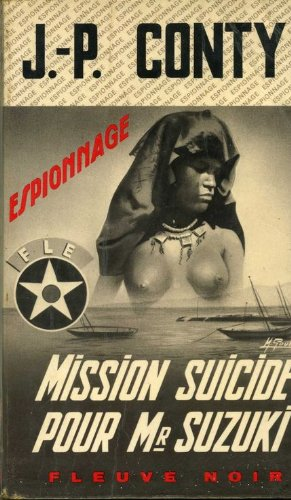 Couverture Mission-suicide pour Mr Suzuki