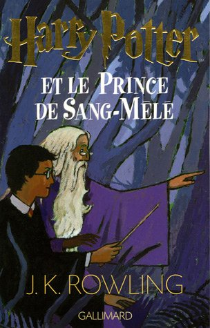 Couverture Harry Potter et le Prince de sang-mêlé