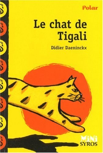 Couverture Le chat de Tigali