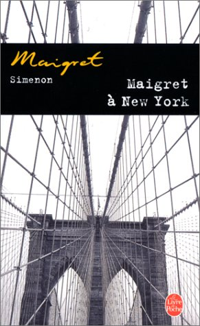 Couverture Maigret à New York