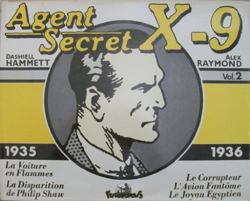 Couverture Agent secret X-9 volume 2