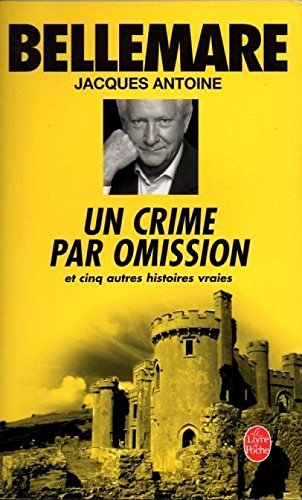 Couverture Un Crime par omission