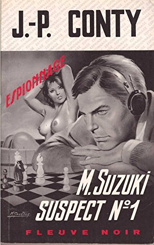 Couverture Mr Suzuki suspect n°1