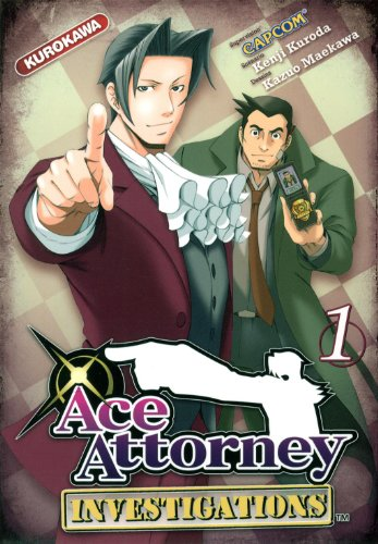 Couverture Ace Attorney Investigations tome 1
