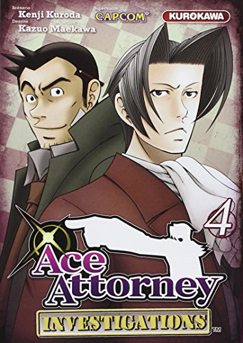 Couverture Ace Attorney Investigations tome 4