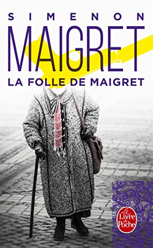 Couverture La Folle de Maigret