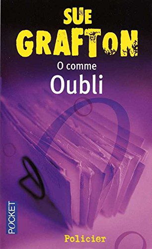 Couverture O comme Oubli