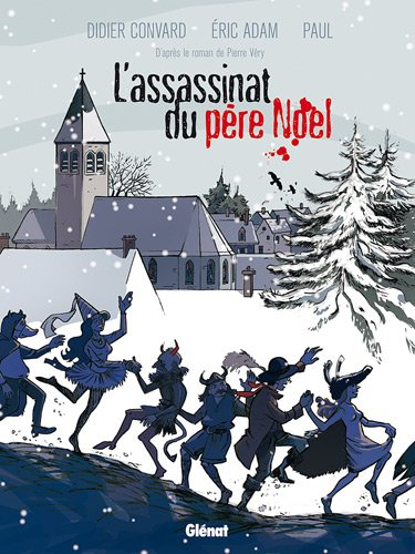 Couverture L'Assassinat du Père Noël