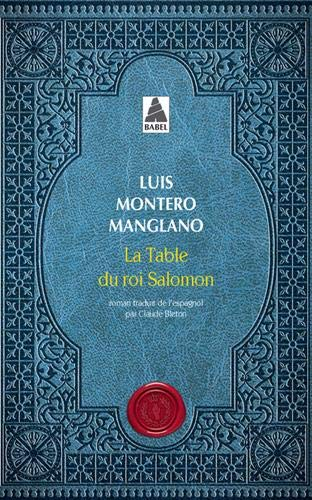 Couverture La Table du roi Salomon