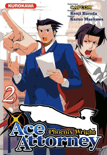 Couverture Ace Attorney - Phoenix Wright tome 2