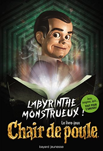Couverture Labyrinthe monstrueux !