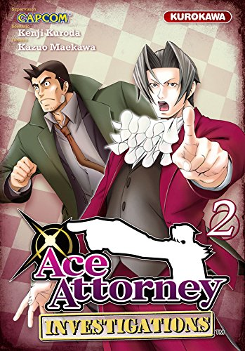 Couverture Ace Attorney Investigations tome 2