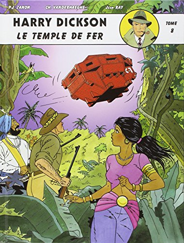 Couverture Le Temple de fer